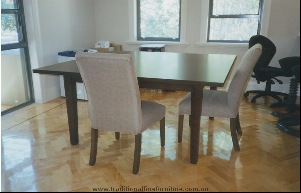 1500 Squate Chocolate Table Beech