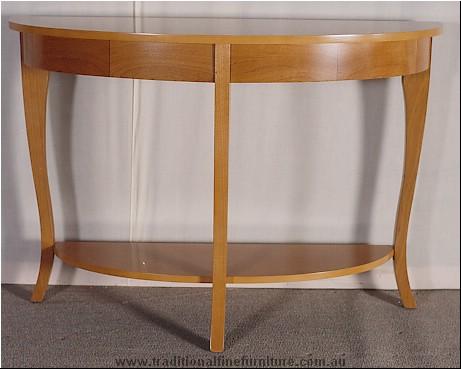 Beech Sofa Table