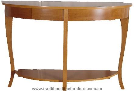 Beech Sofa TableTransparent