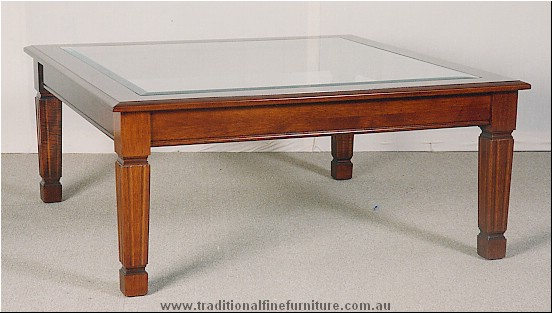 Sheraton Coffee Table Glass Top